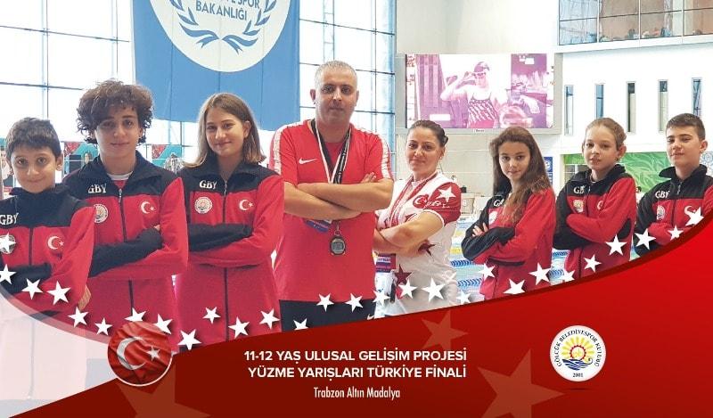 Trabzondan 4 Altın 2 Gümüş Madalya